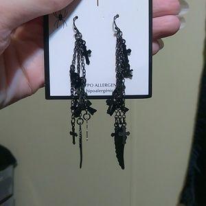 Cute Goth earrings